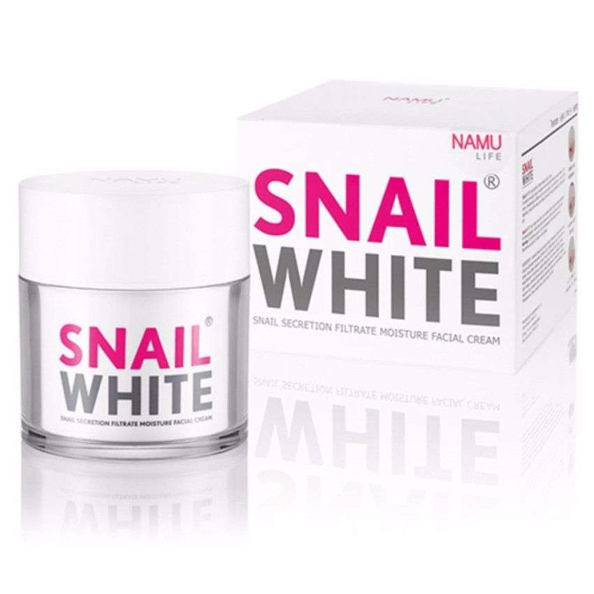 ครีมหน้าขาวใสSnail White Concentrate Facial Cream